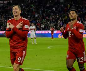 Lewandowski made up for missing a penalty, to fire Bayern to victory. GOAL