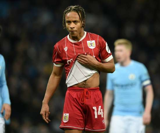 Bobby Reid pictured playing for Bristol City. AFP