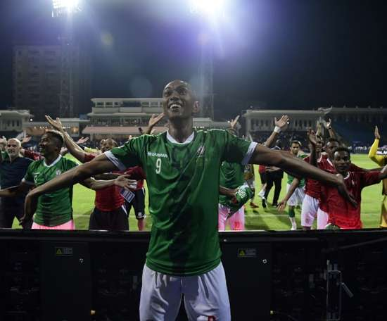 AFCON debutants Madagascar are in the quarters. AFP