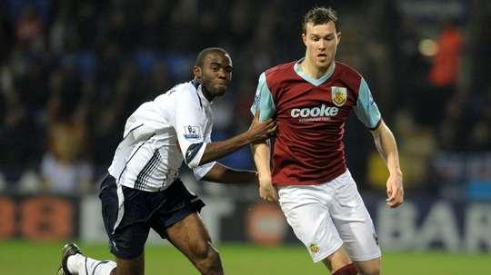 Fabrice Muamba (L) has been coaching Rochdale's U16s recently. AFP