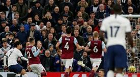 El Tottenham fue un vendaval ante el Burnley. AFP