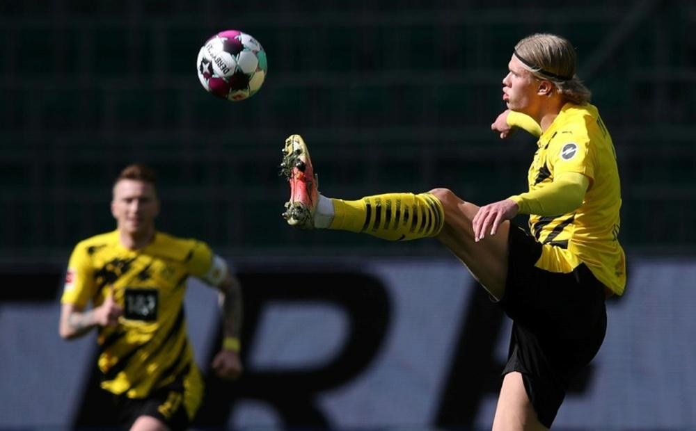 Solskjaer could be key to signing him. AFP