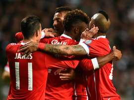 Bayern condemned Celtic to a 2-1 defeat at Parkhead. AFP
