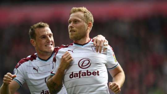Scott Arfield could miss out on the match on Thursday. AFP