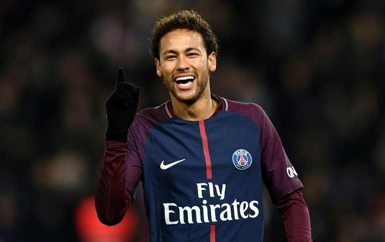 Neymar est l'avenir du football. AFP