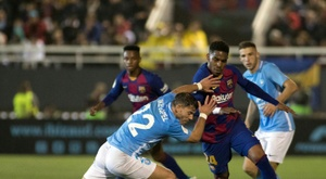 Griezmann double saves Barca on night to forget in Ibiza. AFP