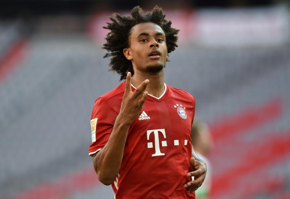 Joshua Zirkzee no ha conseguido tener continuidad en el Bayern. AFP