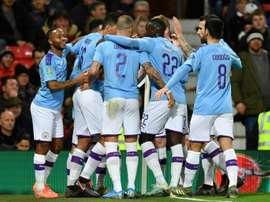 L'épique montée de Manchester City de troisième à deuxième division. AFP