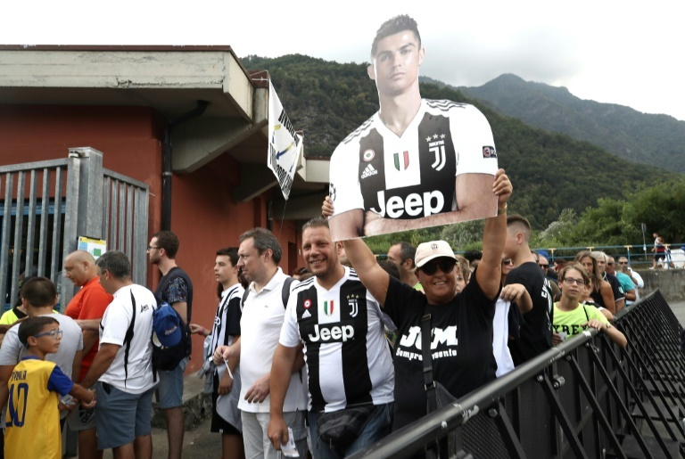 Cristiano Ronaldo Scores In First Juventus Friendly Apperance
