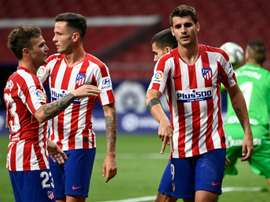 Morata double helps Atletico stretch unbeaten run to 12 games. AFP