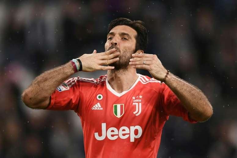 Buffon dejará la Juventus este verano. AFP