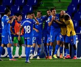 Jaime Mata double revives Getafe Champions League bid