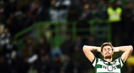 Coates cometió los tres penaltis y acabó expulsado. AFP/Archivo