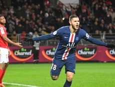 Icardi strikes again to edge PSG past Brest. AFP