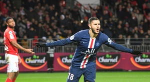 Icardi is doing well at PSG. AFP