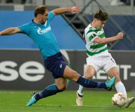 Ivanovic scored once and assisted another as Zenit dumped Celtic out. AFP