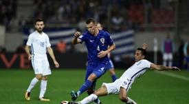 A Croácia é uma das Seleções que estará na Rússia no próximo ano. AFP