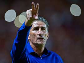 Edgardo Bauza, pictured on March 15, 2015, has been named Argentinas new football coach