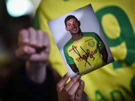 Nantes prépare un hommage pour Emiliano Sala. AFP
