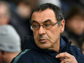 Maurizio Sarri has rarely changed his starting XI. GOAL
