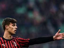 Les modèles du fils de Paolo Maldini. AFP
