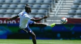 Kamara disputó la primera parte de la temporada en Colombus Crew. AFP