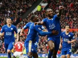El Leicester fue de menos a más. AFP