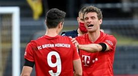 Bayern missing Mueller, Lewandowski for potential title-clincher