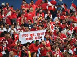 Un 'goal volant' dans le championnat égyptien !!! AFP