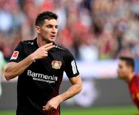 Leverkusen stumble to draw against Wolfsburg