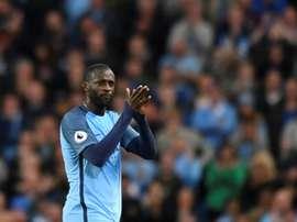 Touré pode abandonar Manchester no final da época. AFP