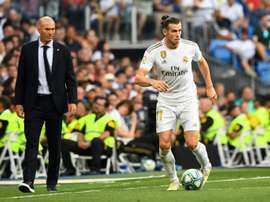 Zidane says Bale did not want to play for Real Madrid v Man City. AFP