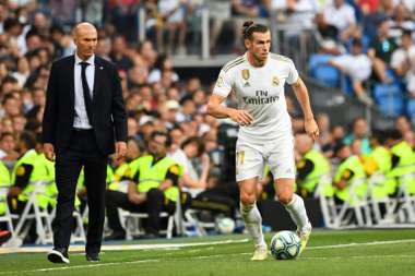 Zidane has got various decisions to make on the Real Madrid starting XI. AFP