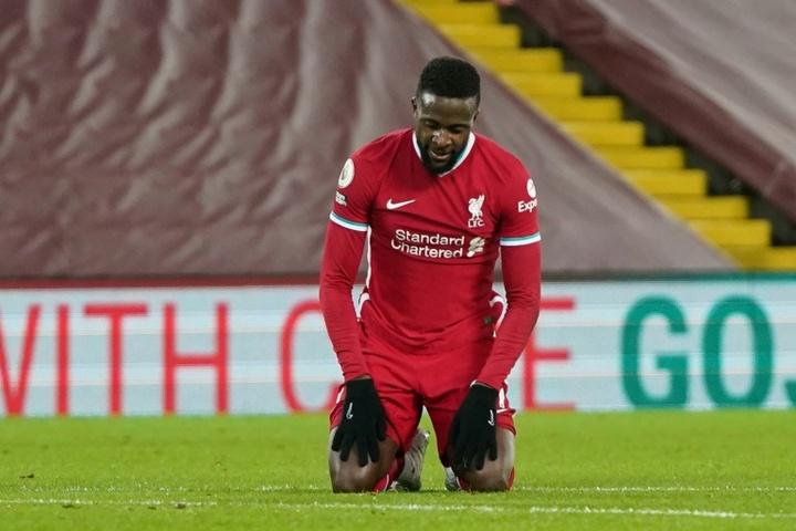 Origi volvió después de haber podido salir del Liverpool. AFP
