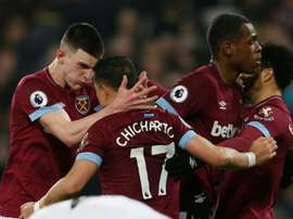 Controversial strike helps West Ham push Fulham closer to trapdoor.