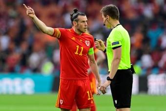 Bale habló sobre la capitanía. AFP