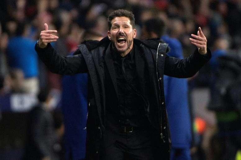Le cauchemar blaugrana de Simeone en Liga. AFP