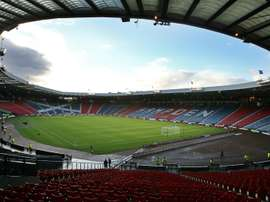 Hampden has hosted Scotland matches since 1906. AFP