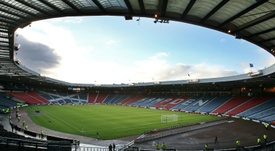 Hampden has hosted Scotland matches since 1906. AFP