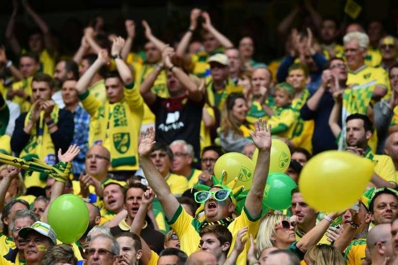 El cántico más antiguo del fútbol no se escucha en Anfield. AFP