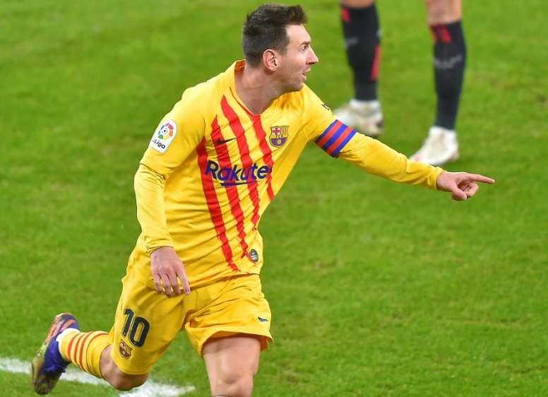 El Barça tiene una sorpresa reservada para el 'Clásico'. AFP/Archivo