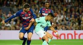 Lenglet adds to Barca defensive worries for trip to Leganes AFP