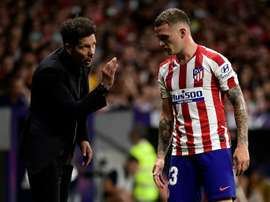 Trippier elogia Cholo Simeone. AFP