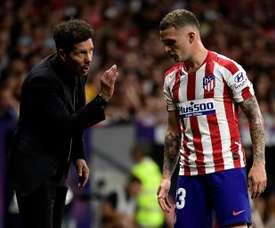 Les latéraux, la meilleure arme de l'Atlético Madrid. AFP