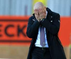 El Palace gana al Burnley. AFP