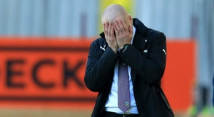 Crystal Palace enfurece técnico do Burnley. AFP