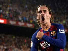Griezmann's dream was to play with Messi, he is not ungrateful. AFP