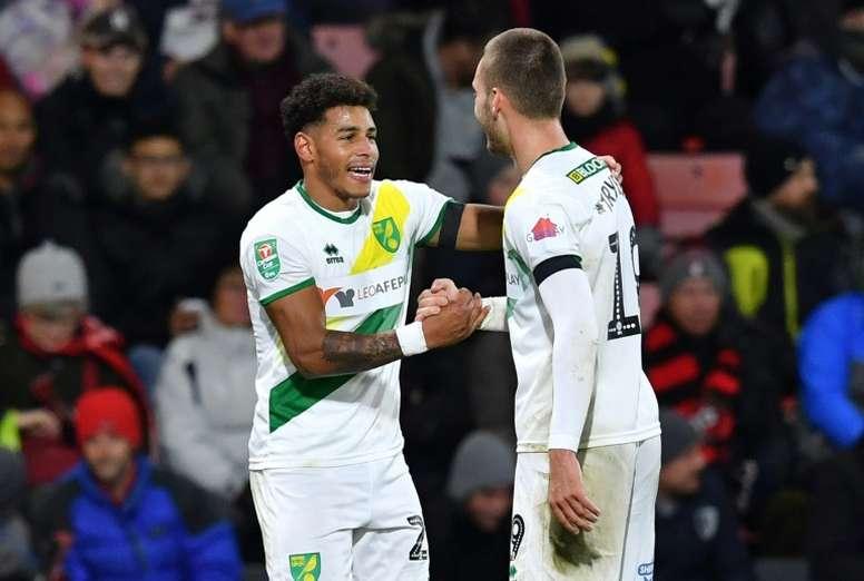 El Norwich va, de empate en empate, camino del ascenso directo. AFP/Archivo