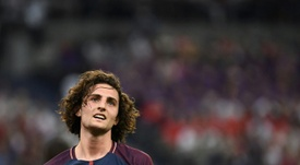 Rabiot absent from final PSG training session. AFP