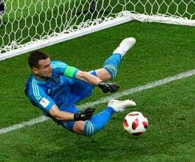 Le gardien a enchaîné 43 matches de Champions sans 'clean sheet'. AFP